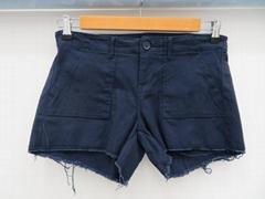2018歐美碼女士新款時尚牛仔短褲
