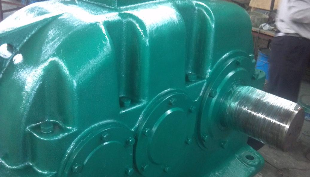Hardened tooth surface ZLY560 Gear reducer 5