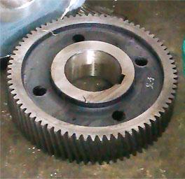 ZSY450-90硬齒面減速機18配91齒高速齒軸 3