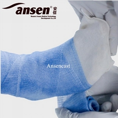 AnsenCast Flexible Fracture Plastic Cast Waterproof Light-Weight Fiberglass Cast
