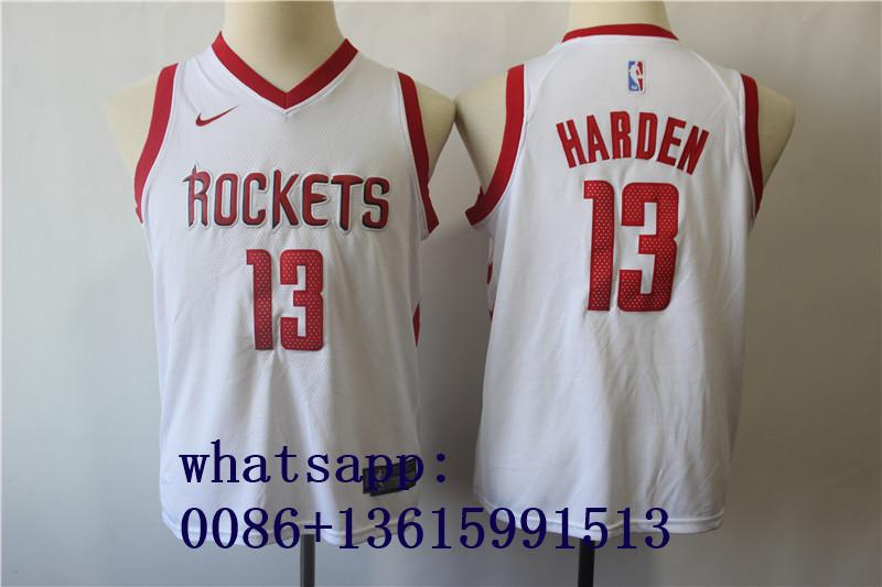 2019 top NBA jersery curry james durant harden paul leonard jokic jordan byrant  15