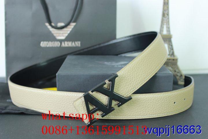 armani belts