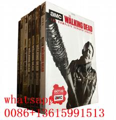 the walking dead season 1-9 , usa movie dvd , American drama US TV series