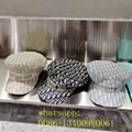 Star newest fashion sport cap dior straw hat Woolly hat round cap wholesale