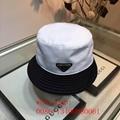 Wholesale prada youngest new women men sport cap fashion sport stripe hat