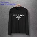 Super star style Prada men t-shirt Prada girl youngest Long T Shirt