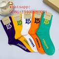 Yellow black white Burberry short socks Balenciaga long sport sock best quality