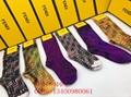 Colorful fendi men socks girl fendi long sport cotton socks best price