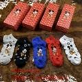 Christmas red LV socks lv short long sport cotton socks top quality whoelsale