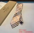 2020 new arrival fashion men business Burberry spot Tie burberry stripe necktie