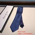 New blue red black men business gucci spot tie gucci stripe necktie