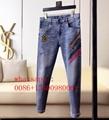 2020 Top quality fashion Fendi jeans Fendi men jeans burberry long jeans