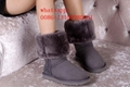 Brown classical ugg snow boots women black ugg boots shoes wholesale top quality