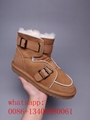 Black reflective ugg snow boots men brown ugg boots shoes wholesale top quality