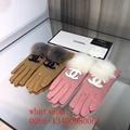 2020 Newest dior women black gloves fendi leather gloves wholesale