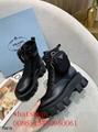 2020 prada leather long boots prada women short shoes prada female winter shoes