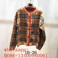 Wholesale new burberry lady sweater burberry women jacket burberry female coat