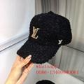 Winter LV new sport cap LV straw Transverse grain hat LV woolen hat LV round hat