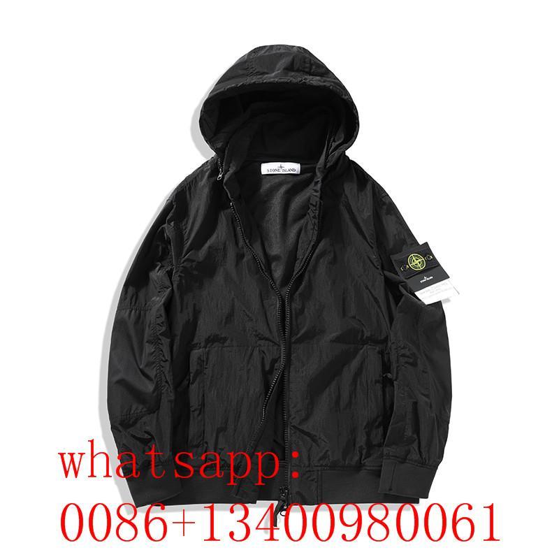 2020 top quality men stone island coat stone island  jacket stone island hoodies 17