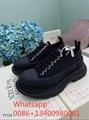 2021 Alexander Mcqueen sport women shoes Alexander Mcqueen leather leisure shoes
