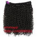 8A Peruvian Kinky Curly Virgin Human Hair brazilian curly Malaysian curly wave