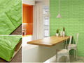 3D Wallpaper Sticker Self-adhesive Faux Brick Textured Effect Background 1