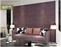 3d砖墙贴背胶自粘面板PE泡沫棉壁纸砖纹软装背景墙壁装饰咖啡色 1