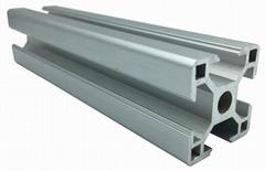 Customized Furniture Aluminium Profile ,Powder Coated Aluminum Tube,modular Alum