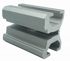 customized square structure BT4Y aluminum extrusion profile
