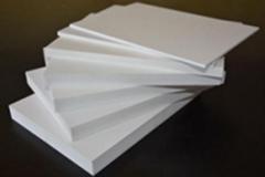advertising 20mm matt surface UV resistant retardant insulation pvc foam board