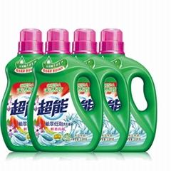 超能植萃低泡洗衣液 鲜艳亮丽 无磷不伤手 工厂批发