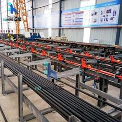 CNC Rebar Sawing & Threading Line