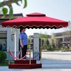 雙層崗亭傘