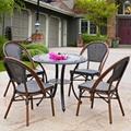 五件套組合戶外藤編桌椅 1