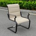 網布沙發椅鋁茶几套裝 5