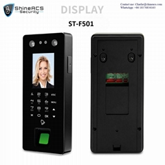 Face and Fingerprint Time Attendance Standalone Terminal