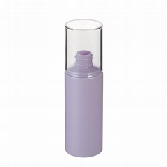 100ml PET Plastic Cylinder Bottle With Over Cap