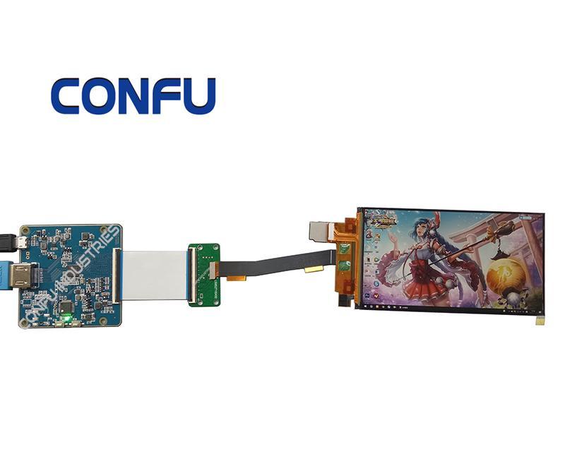 Confu Hdmi to Mipi DSI driver board for 5 2 inch 1080*1920 lcd VR AR