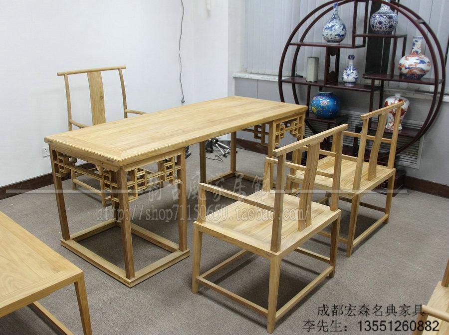 成都明清茶楼家具 3