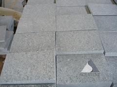 Grey granite paving stone salt and pepper