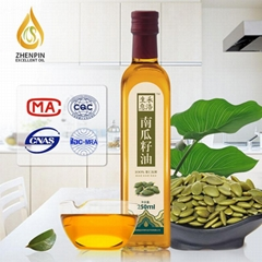 Cold Pressed Pumpkin Seed Oil 250ml bottle