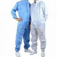 防靜電服 連體無塵服 防塵工作服