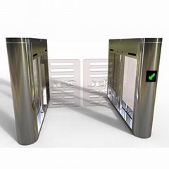 小區工廠地鐵人行通道刷卡門禁系統翼閘擺閘