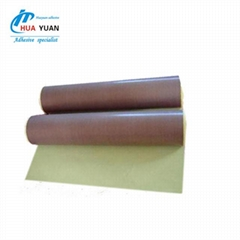 Brown Adhesives Teflon Adhesive Tape same as HAT-F13