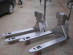 Stainless Steel Pallet Truck Scales