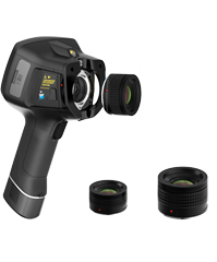 640*480 handheld infrared thermal imaging camera