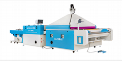 Yalis fabric shrinking and forming machine