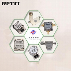 天亚通射频N/SMA/TAB连接器10MHz-26.5GHz,高达2000W的隔离器和环行器
