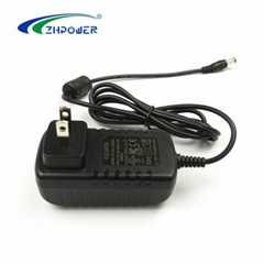 Wall mount adaptor 12v/ 24v 1a 2a 3a 4a 5a ac dc power adapter with Certificate