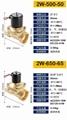 廠家直銷兩位兩通黃銅材質電磁閥220V 2W 32 40 50 65 關閥 電動閥 1